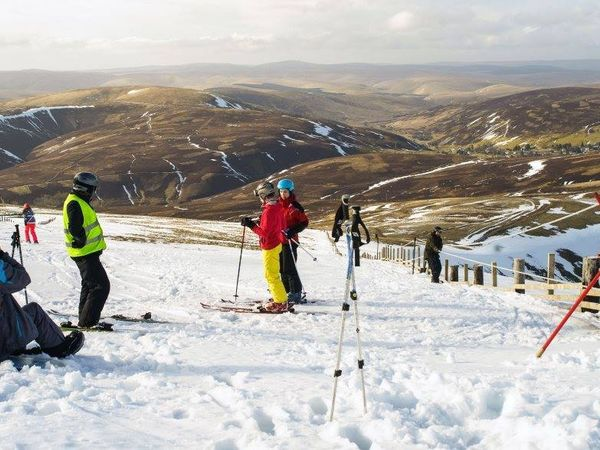 Lowther ski club in action 1