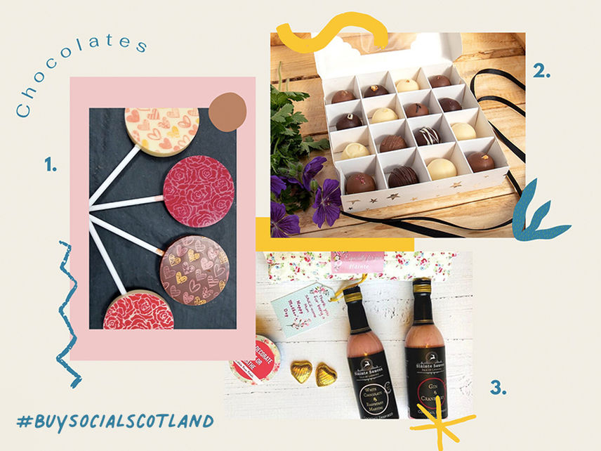Mothers Day Gifts Chocolates Buy Social Scotland