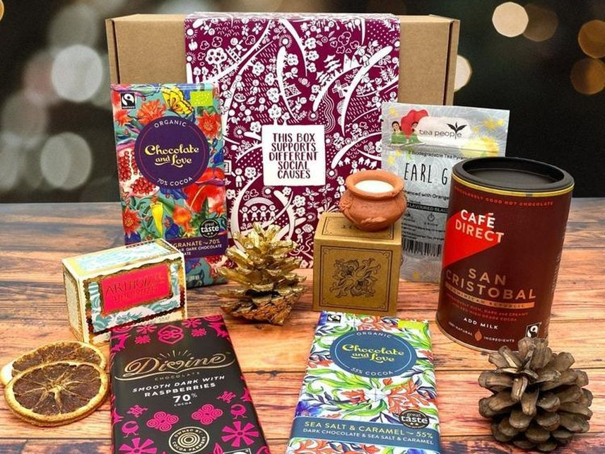 Social Stories Club Winter Warmer Gift Box