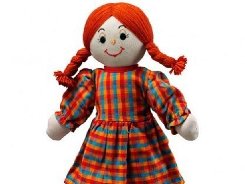 One World Shop Red haired doll