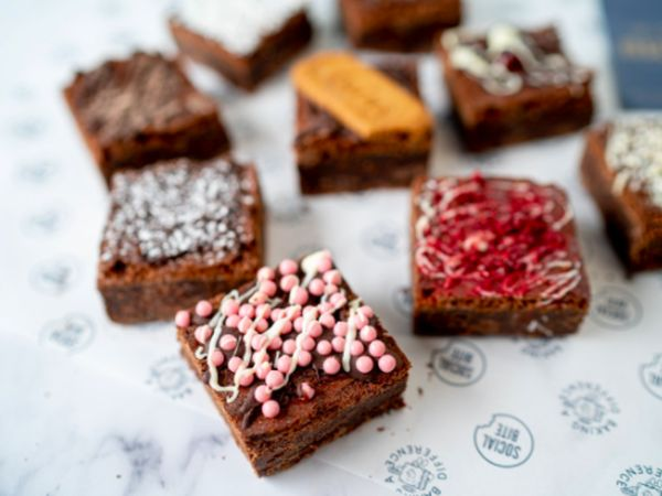 Social Bite Festive Brownies Box