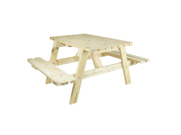 Wooden furniture large picnic table 1400x