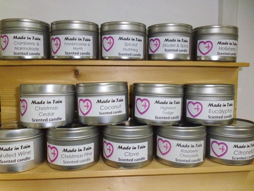 Made in Tain Candle