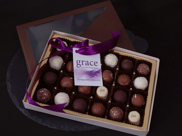 Grace Chocolates Chocolate Truffles Gift Box