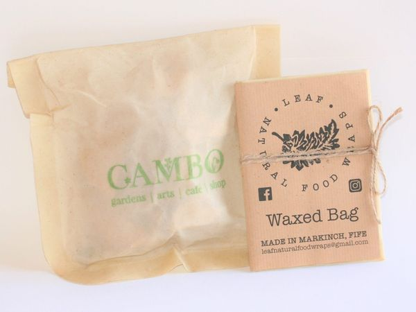 Cambo Gardens Natural Waxed Food Bag