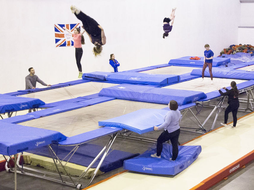 Sparta Trampoline Club Private Trampolining Classes