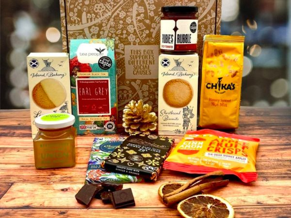 Social Stories Club Sustainable Foodie Gift Box